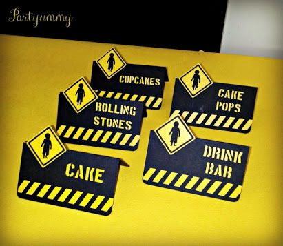 Construction Theme Party Free Printables