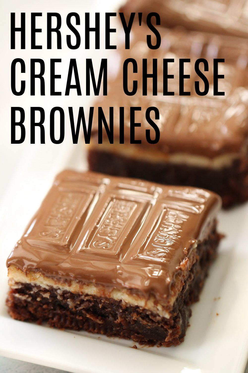Hershey's Cream Cheese Brownies Recipe