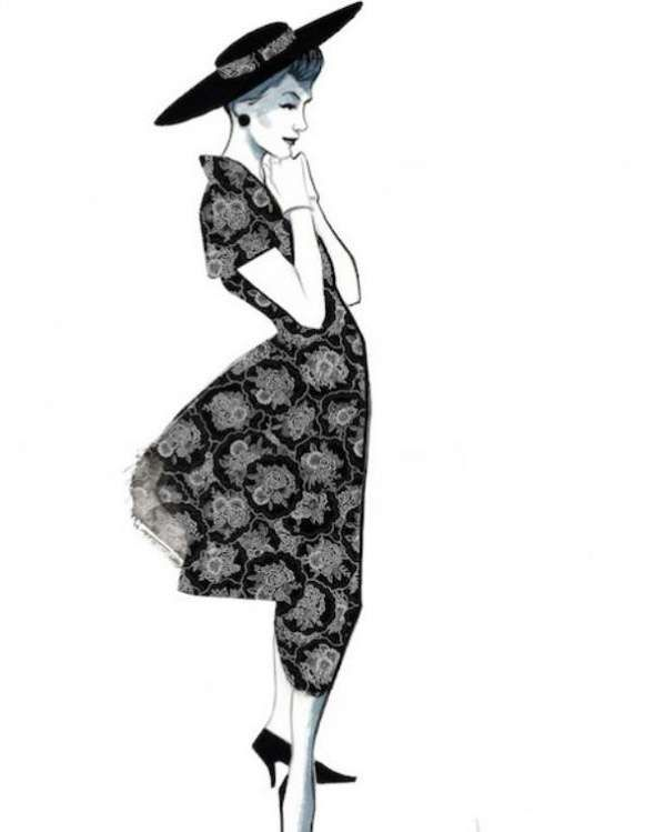 Illustrations,Fernando,Vicente,Mode,Chic,Glamour,06