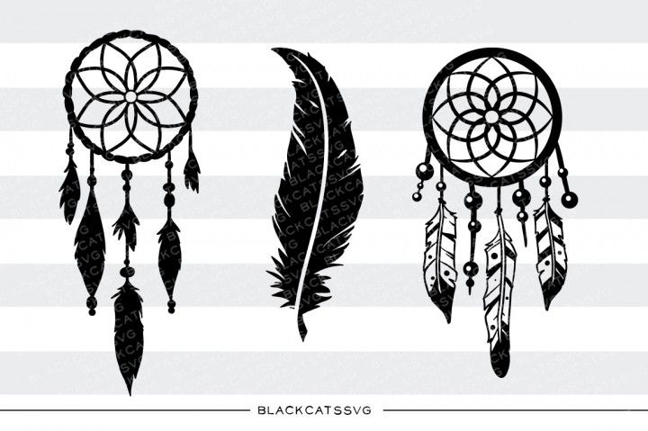 Dreamcatcher Monogram Cuttable Design PNG DXF SVG /& eps File for Silhouette Cameo and Cricut