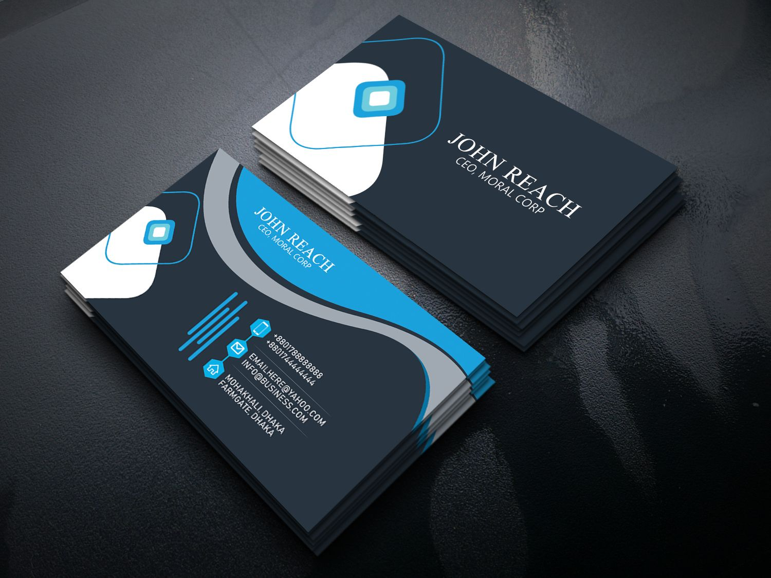 If You Need A Simple And Professional Eye Catching Business Card