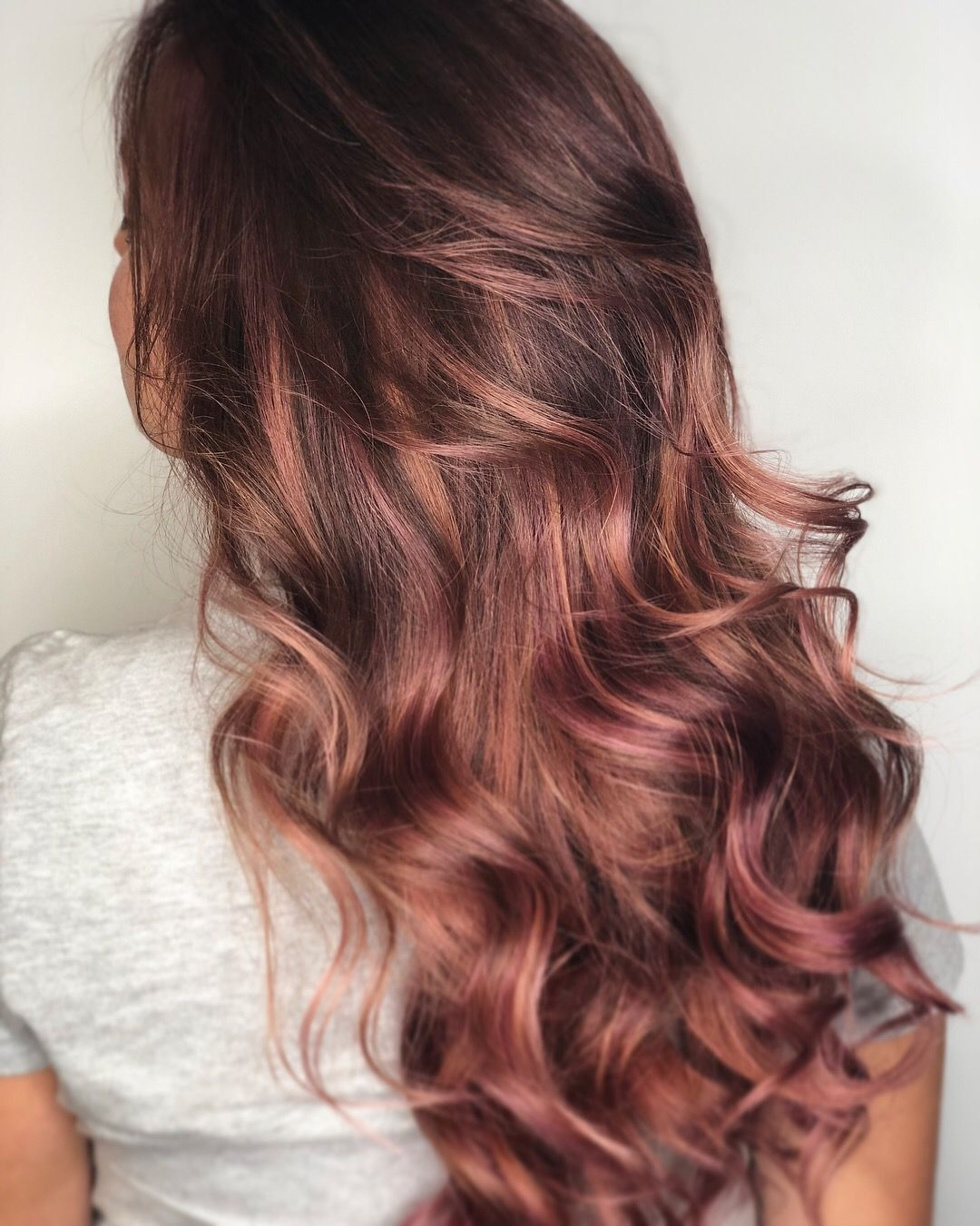 Rose Gold Hair Kevin Murphy Color.Me Balayage Ombre