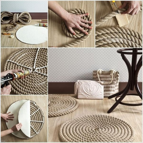 20 wirklich erstaunlich DIY Badteppiche Designs, die Sie kostenlos machen können