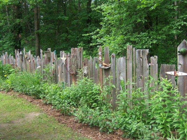 Awesome old fence...by cornbreadandbeansquilting Zaun