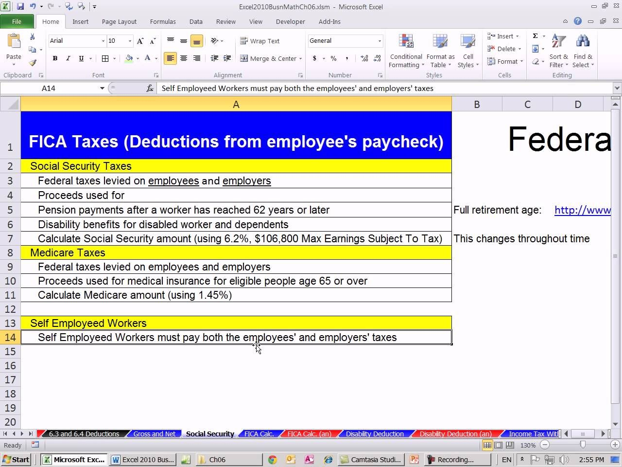 Social Security Benefit Calculation Spreadsheet Spreadsheet Social Security Benefits Social Security