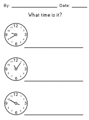 Time For Kids Worksheets Photos - pigmu