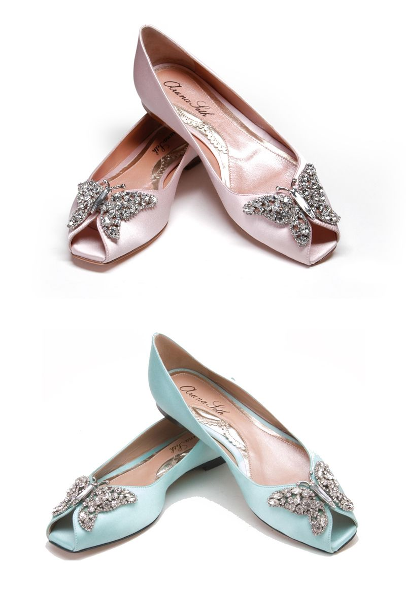 Glamorous Aruna Seth Wedding Shoes For Every Bride Butterfly