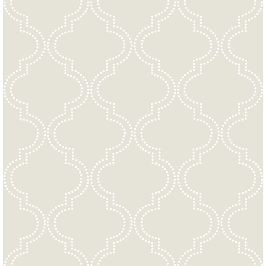 WallPops 30sq ft Taupe Vinyl Geometric Peel And Stick