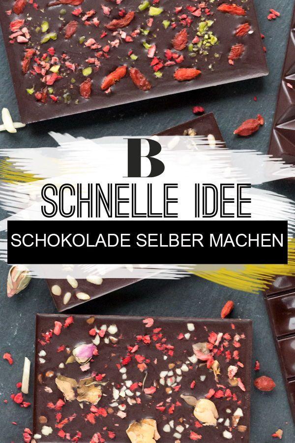 Schokolade selber machen – schnell und einfach