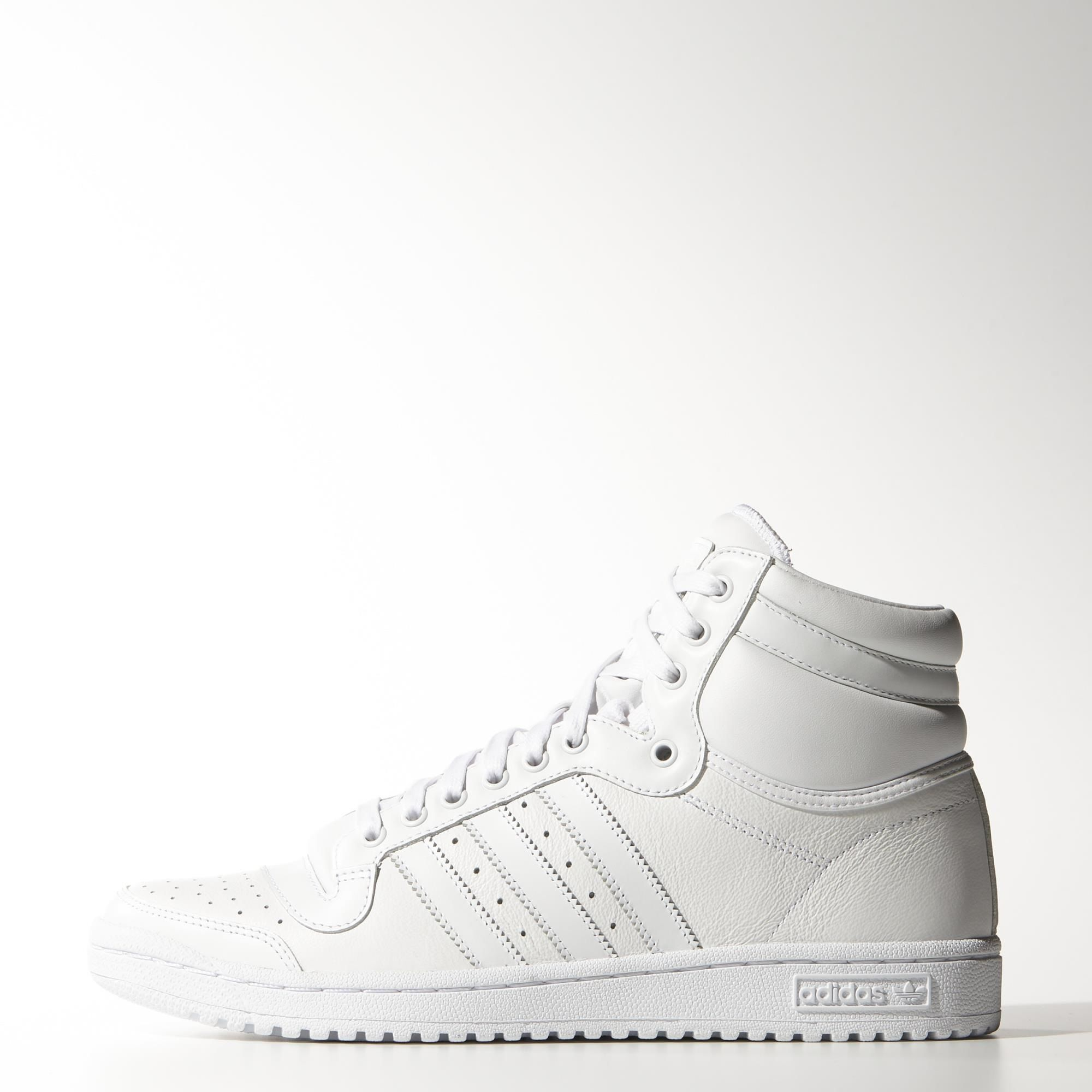 6c5b81ecb3941 adidas Top Ten Hi Shoes - White