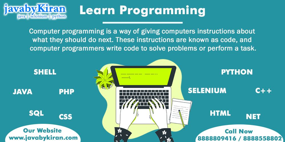 Learn Computer Programming With Us And Start Your Career As A