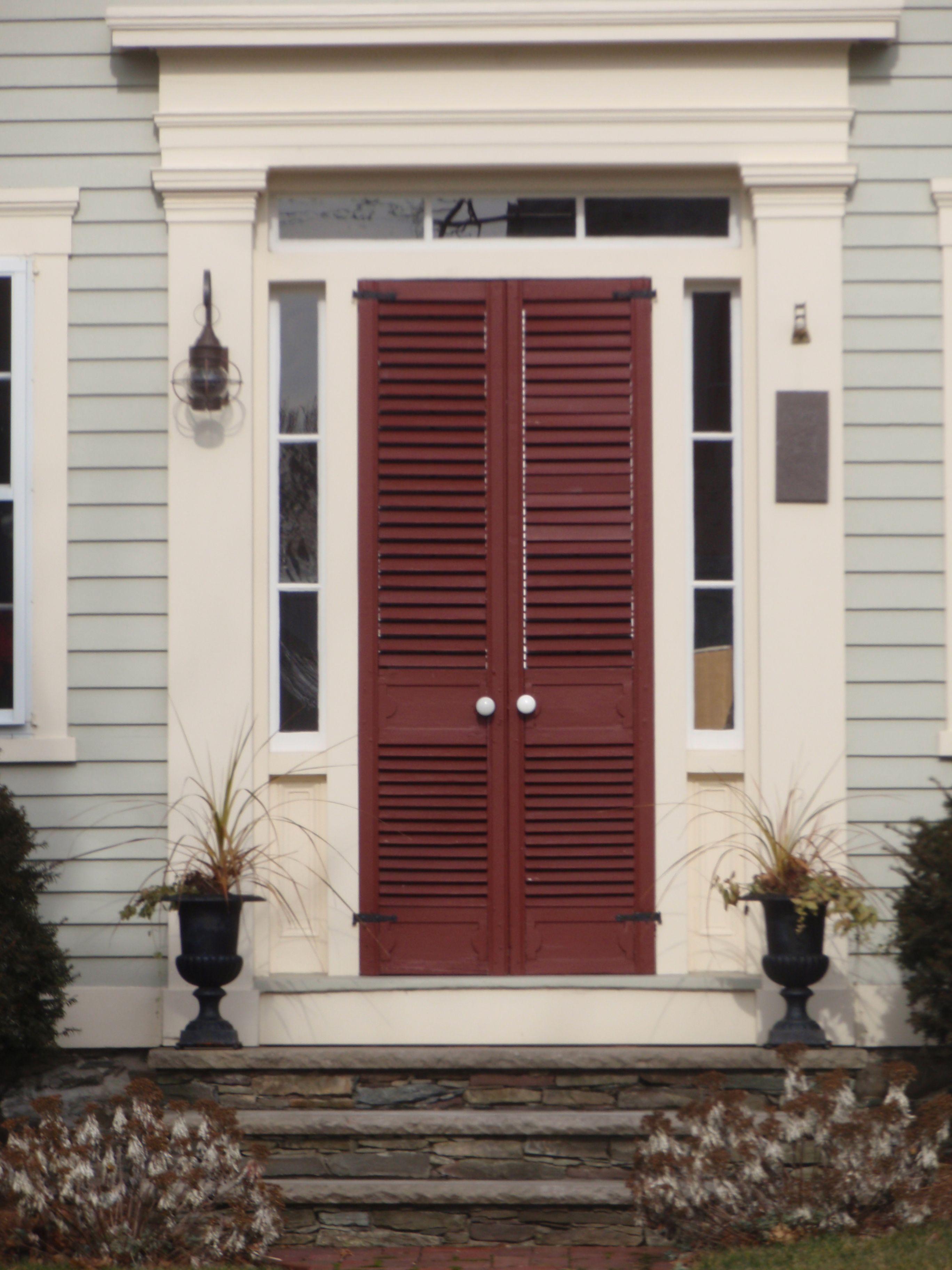 louvered garden doors - google search | outdoors | pinterest