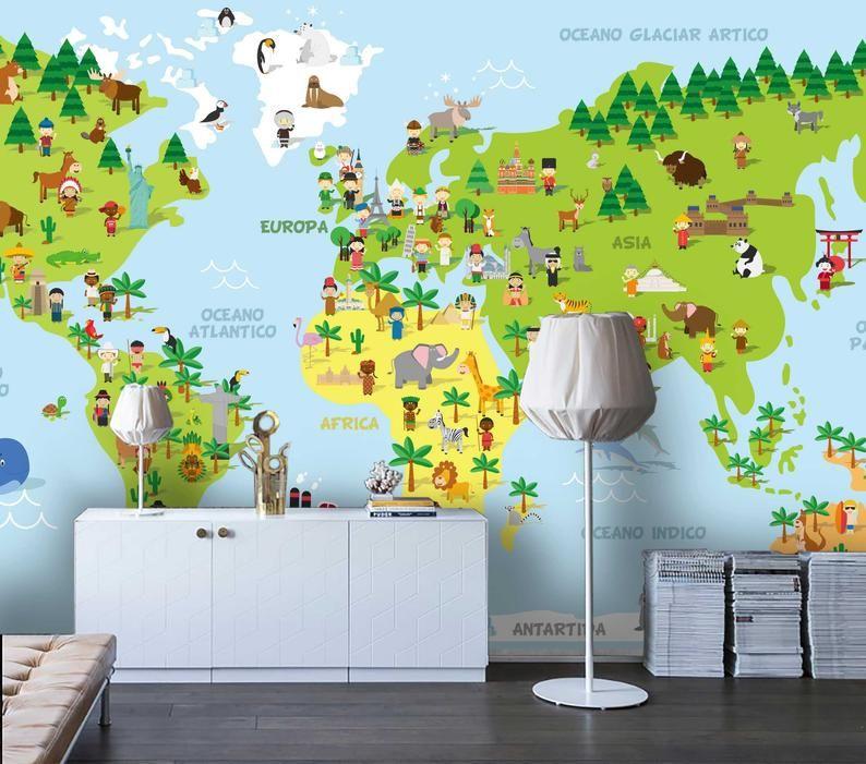 Pin On Kids Wallpaper Wall Mural