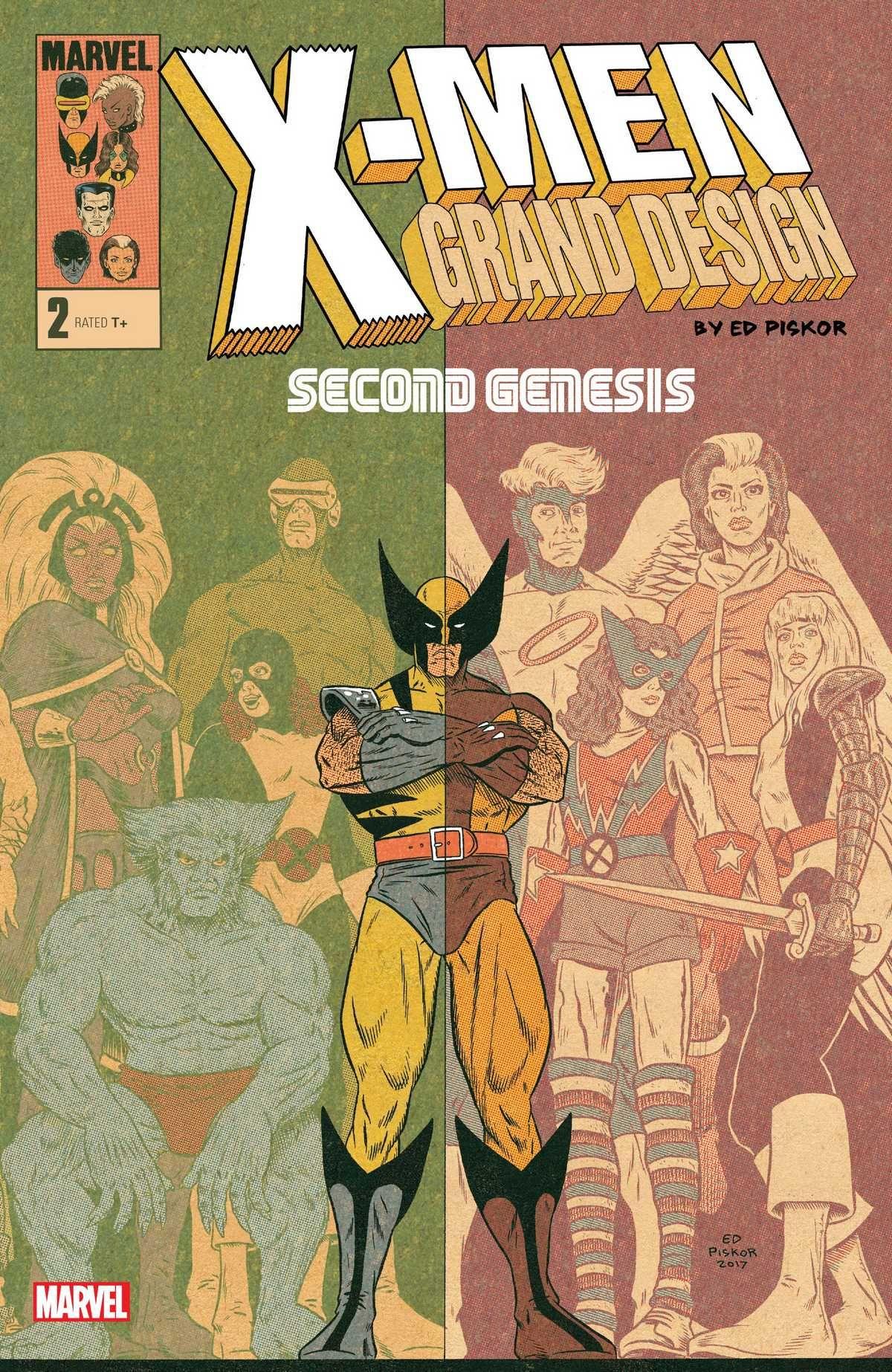 X Men Grand Design Second Genesis 2018 Grand Designs X Men Marvel Xmen