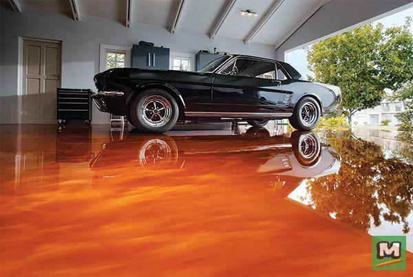 Transform Your Boring Garage Floor With A Rust Oleum Rocksolid