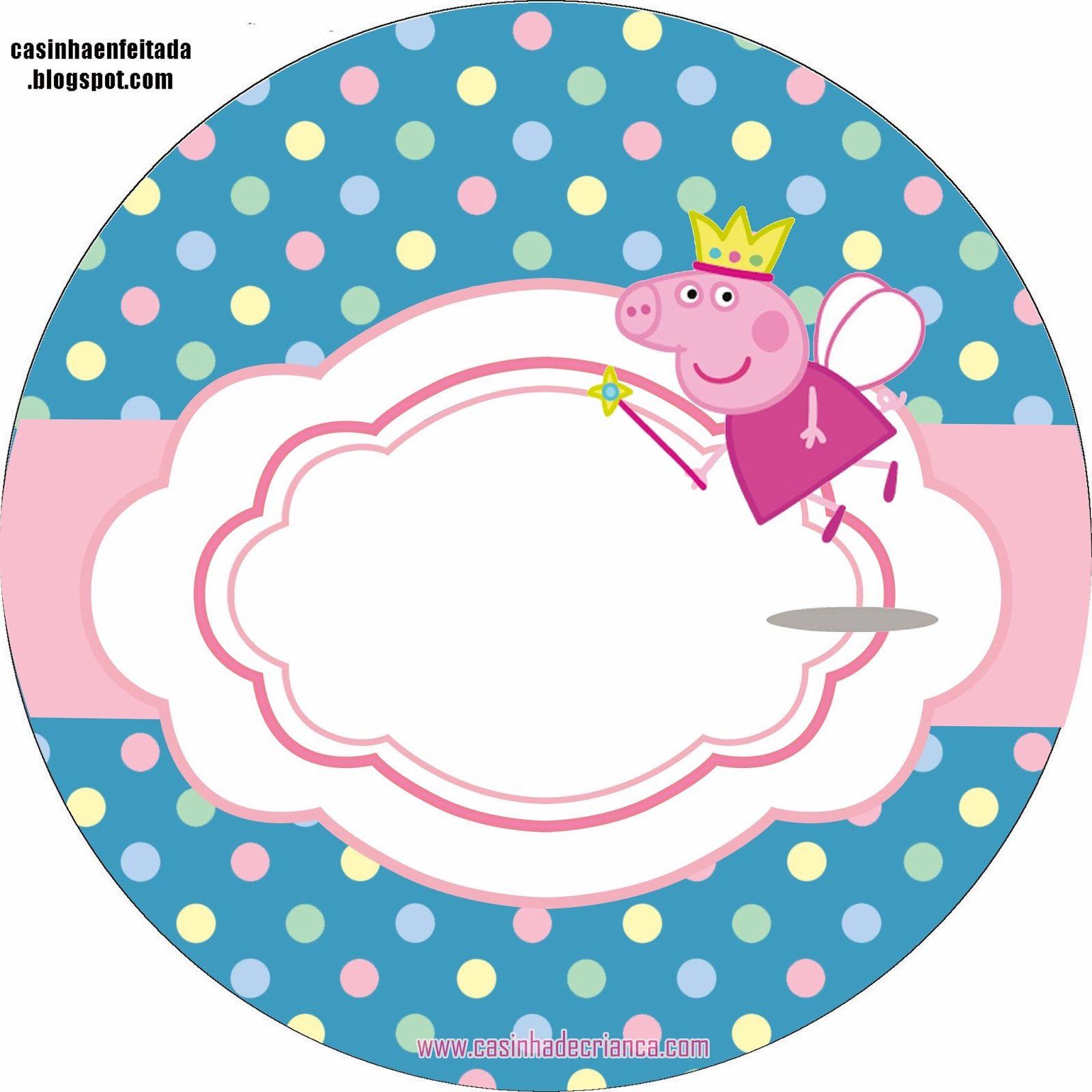 Casinha de Criança: Kit Festa Peppa Pig Para Imprimir Grátis
