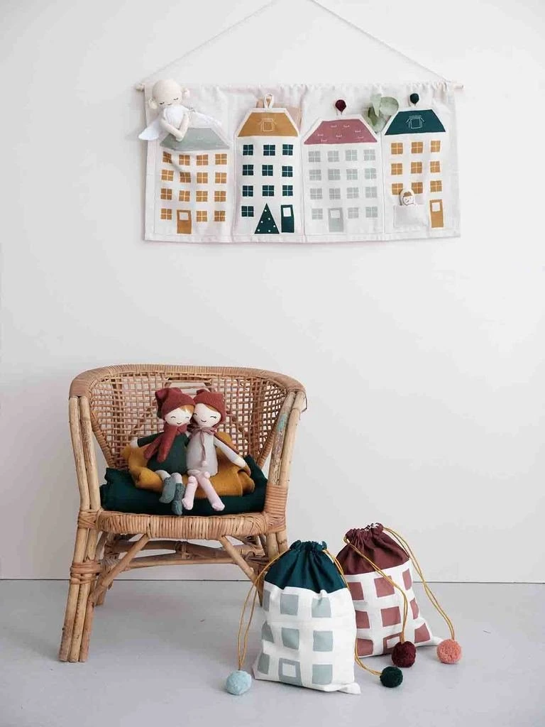 Fabelab Advent Calendar Town House In 2020 Christmas Decorations For The Home Advent Calendar Scandinavian Christmas Decorations
