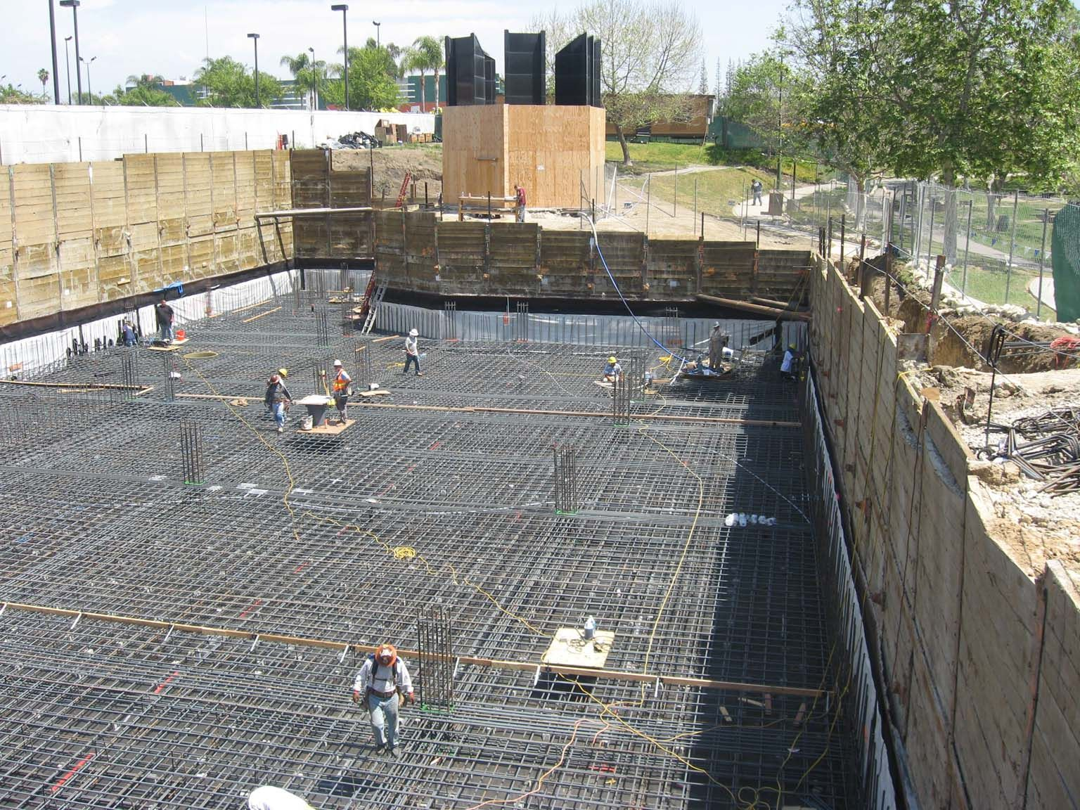 Mat foundation google search foundations pinterest for Basement foundations construction