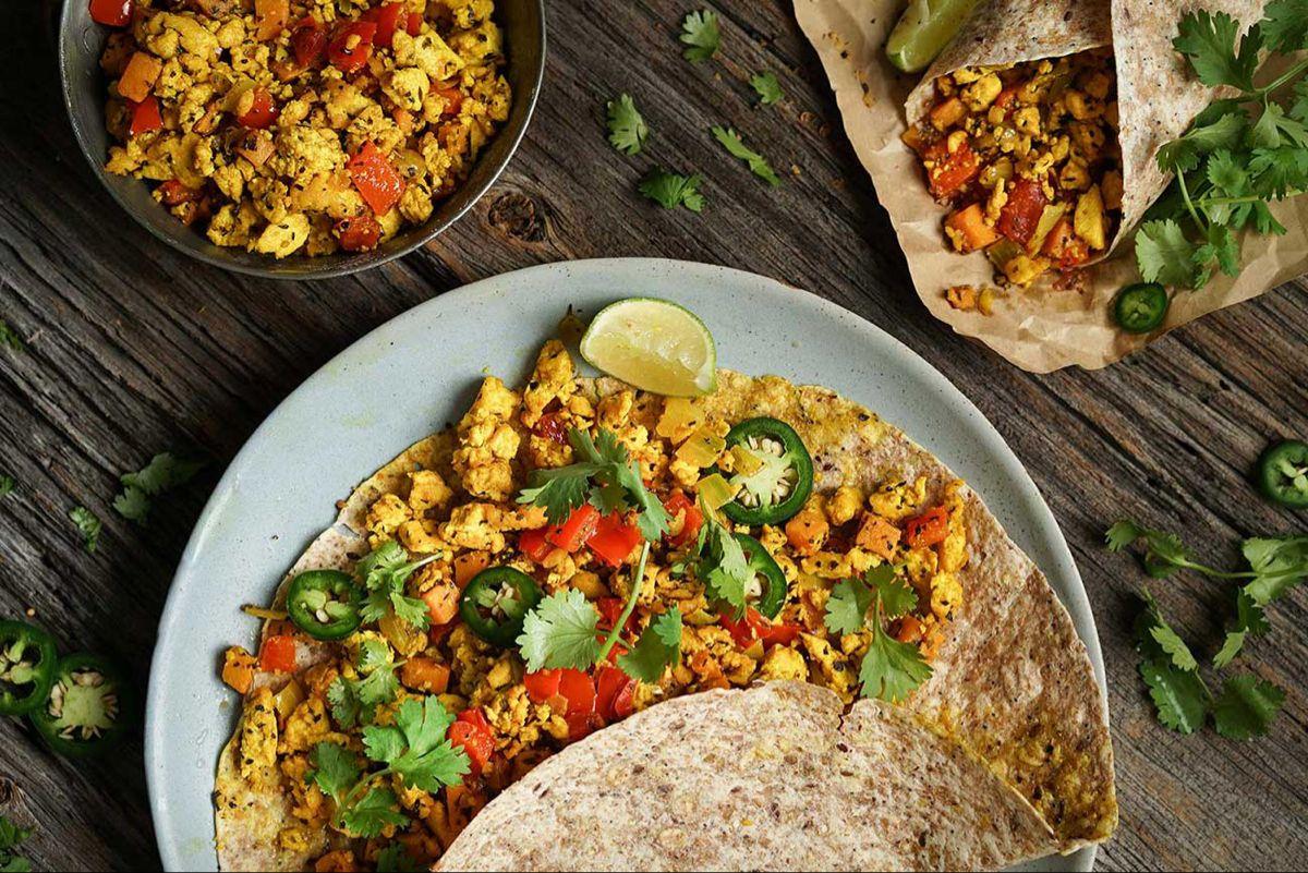 Big Breakfast Burrito Big breakfast, Plant based diet