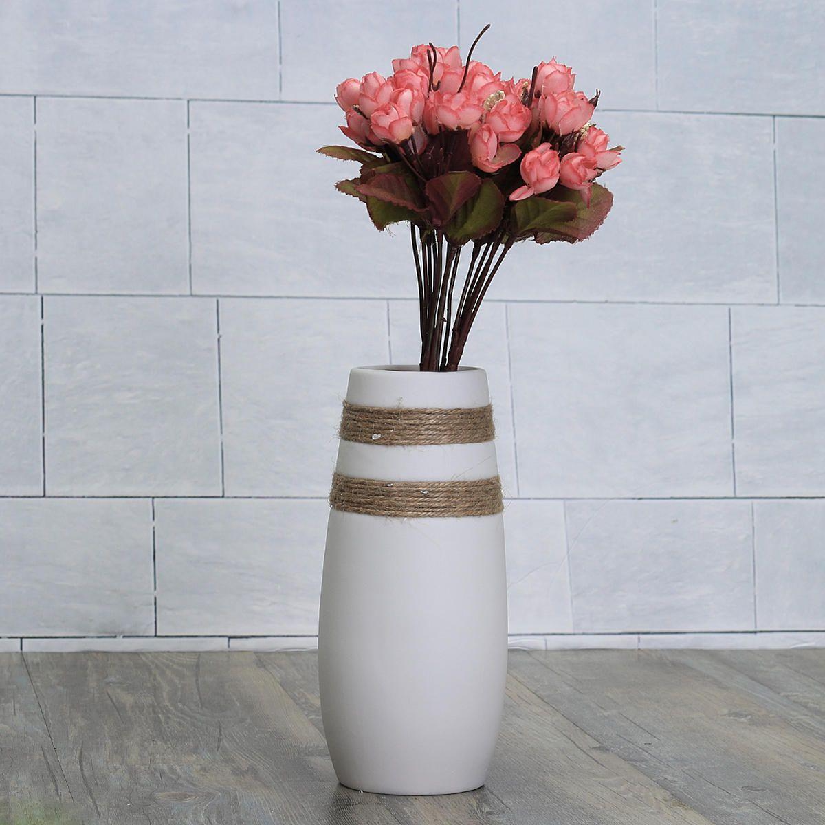 White Creative Modern Ceramic Flower Vase Handmade Flowers Bouquet on ceramic wall flowers, nerdy ceramic vases, vintage ceramic vases, ceramic candle holders, decorative vases, organic shaped ceramics vases, ceramic jars, cheap ceramic vases, bud vases, ceramic mugs, textured ceramic vases, antique vases, ceramic vases and urns, ceramic cups, ceramic vase designs, beautiful ceramic vases, cool ceramic vases, handmade ceramic vases, ceramic square vases, ceramic flower vessels,