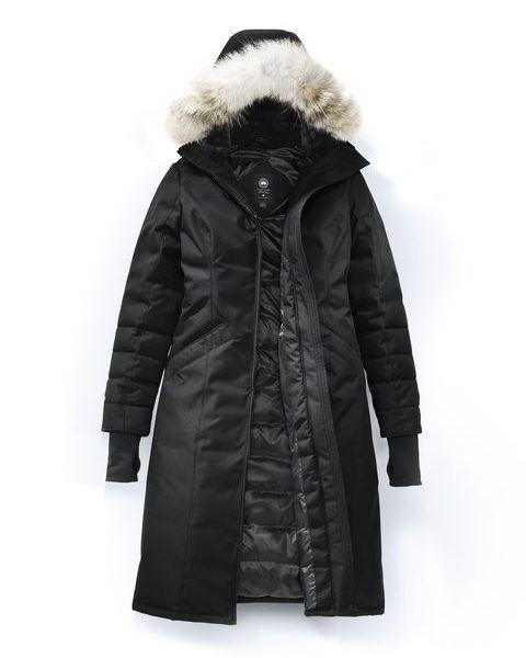 canada goose montebello parka zwart