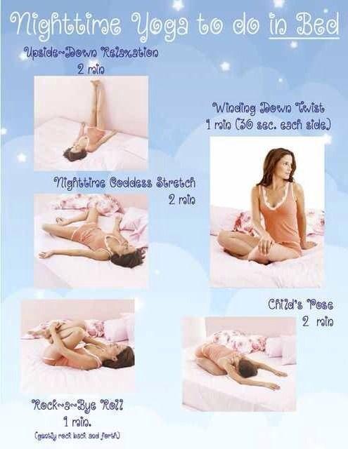 One Last Tip For The Night Night Time Yoga Easy Yoga Sleep Yoga