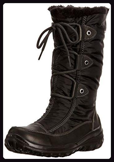 Gabor Desoto, Damen Stiefel, Schwarz - Black Tumbled Pull/Nylon Tex - Größe