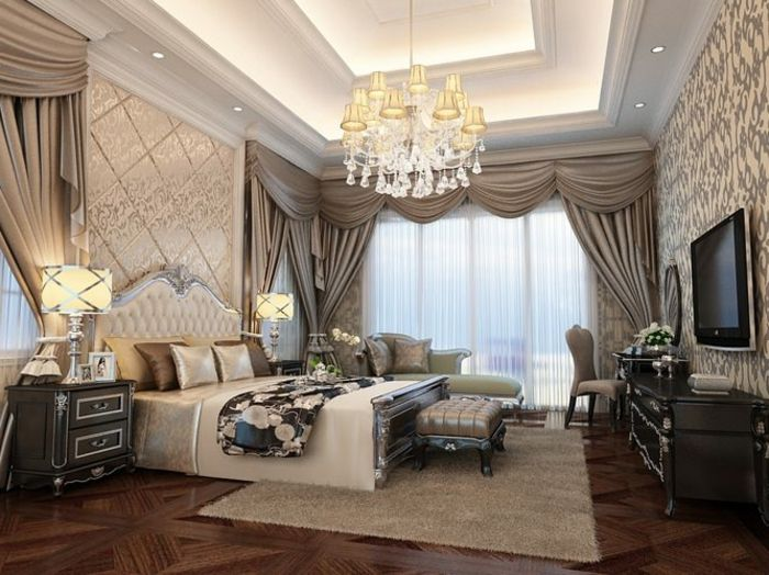 ▷ 1001 + idées magnifiques pour votre chambre baroque   Chambre ...