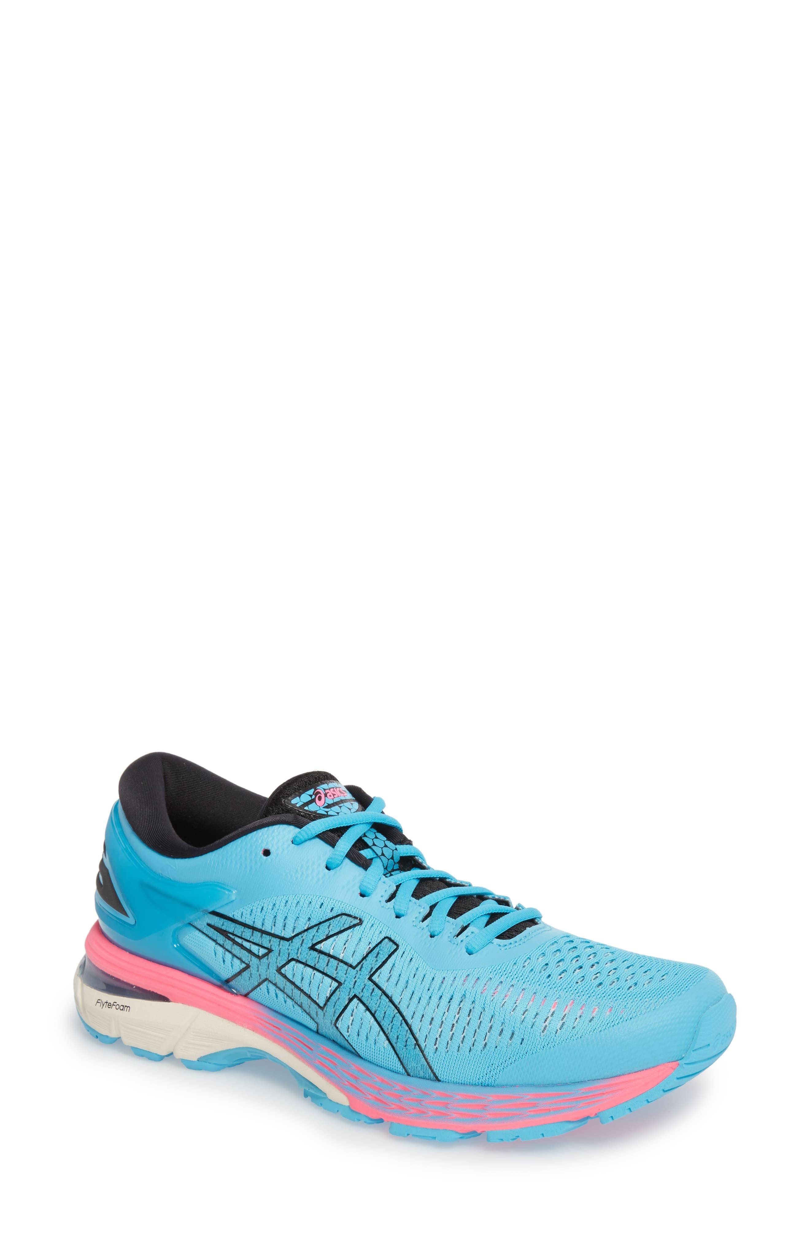 Women S Asics Gel Kayano 25 Running Shoe Size 7 5 B Blue Products In 2019 Shoes Running Shoes Asics