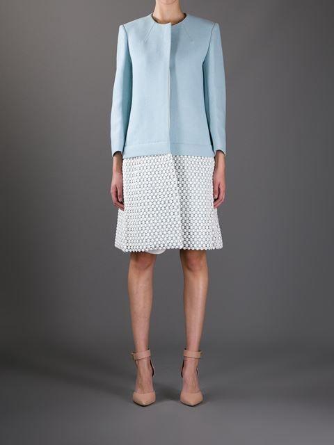 Chloé Crochet Coat - - Farfetch.com