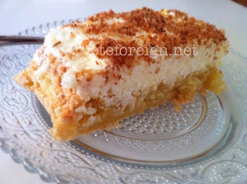 Almond Macaroon Cake with Coconut Cream Frosting