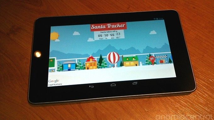 Santa Tracker is available to download now for both