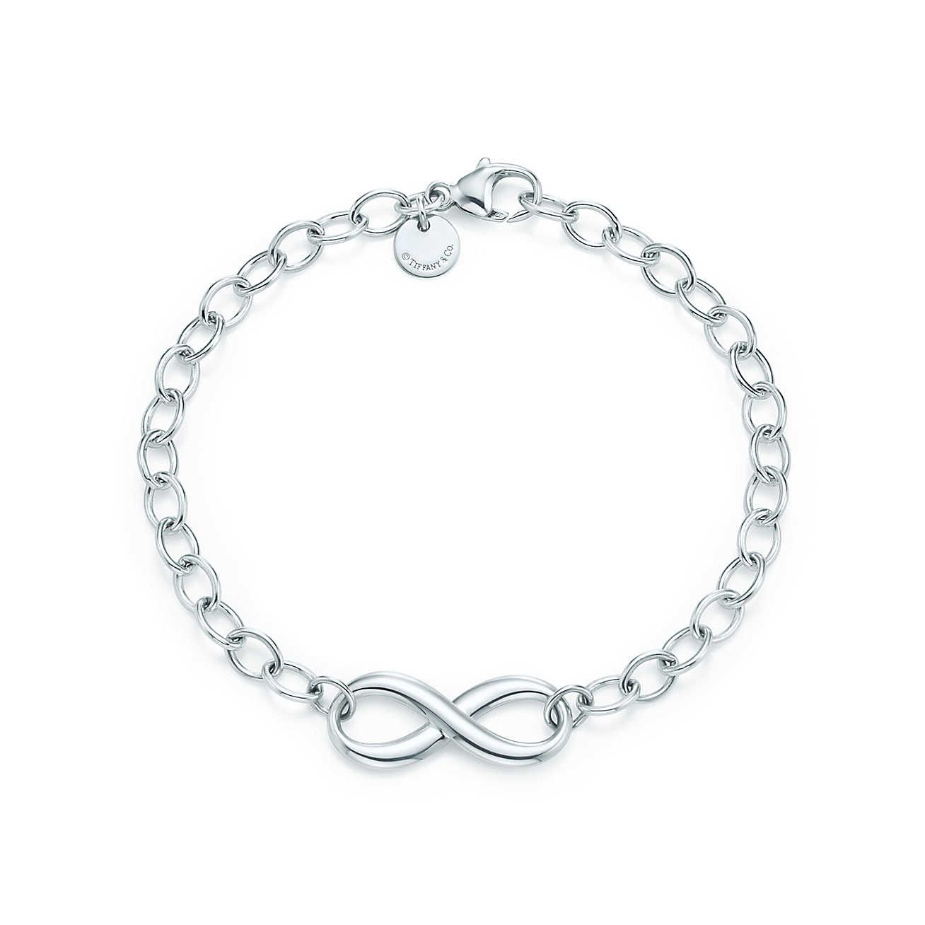 Tiffany infinity bracelet wedding silver bracelets and bracelets