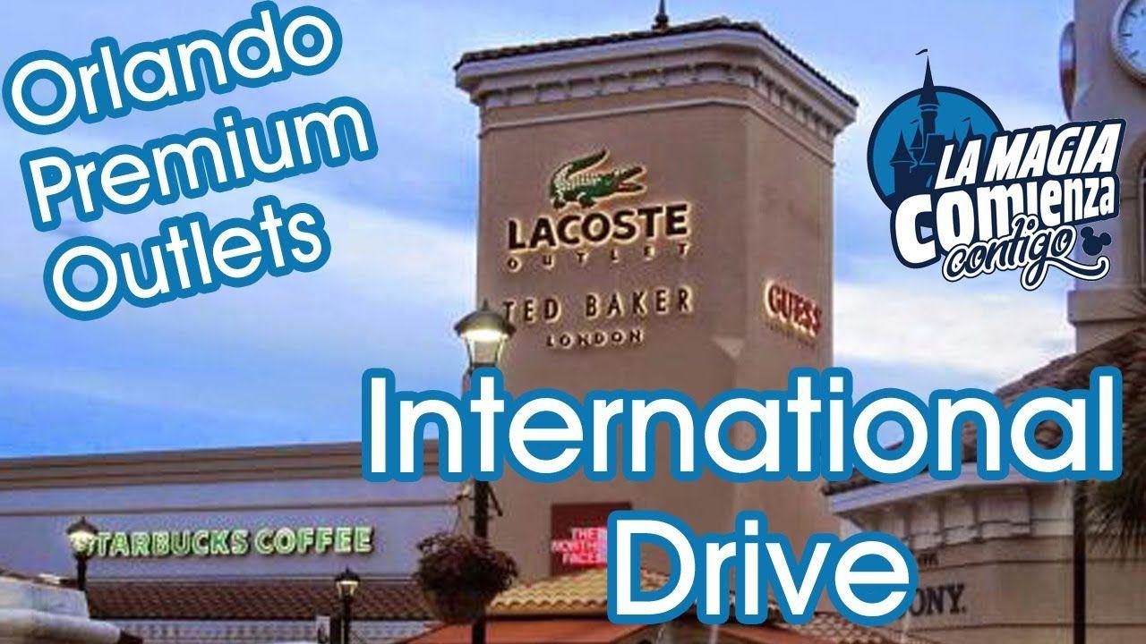 BUEN SHOPPING EN ORLANDO! PREMIUM OUTLETS INTERNATIONAL DRIVE