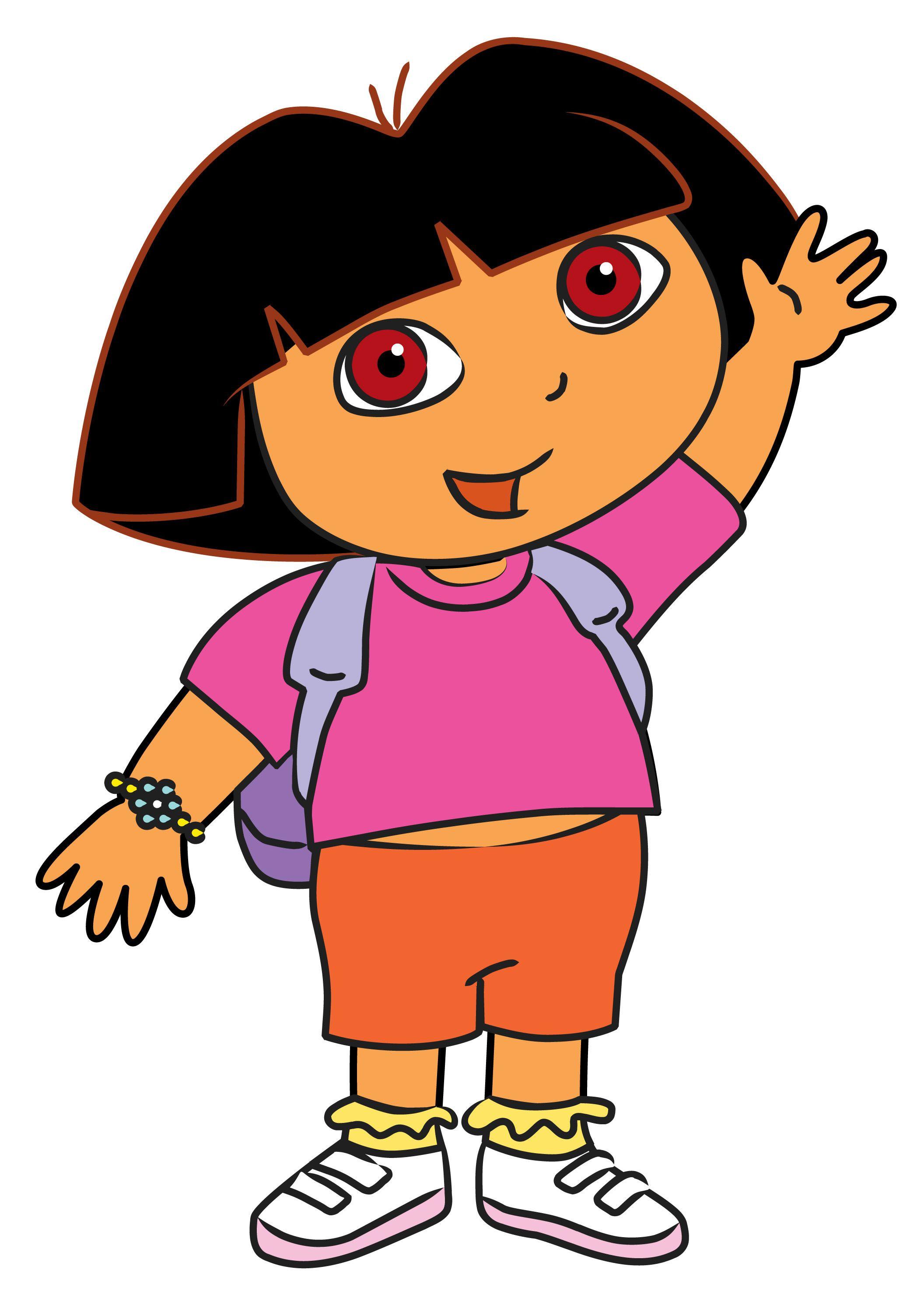 Draw Dora the Explorer | Templates | Pinterest | Birthdays