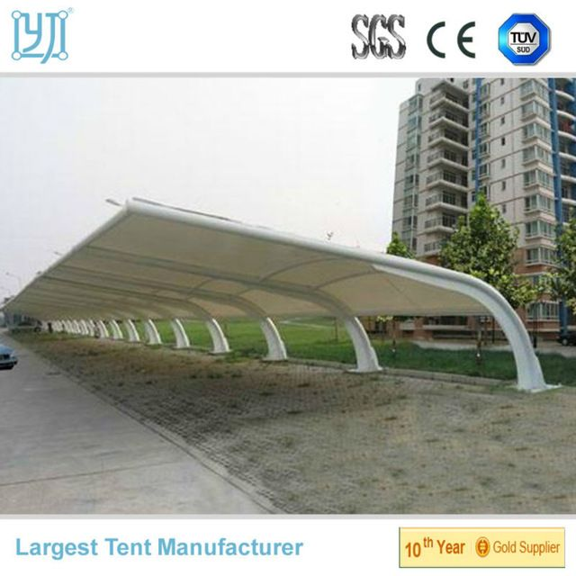 Source car parking membrane structure parking shed parking canopy on m.alibaba. & Source car parking membrane structure parking shed parking ...