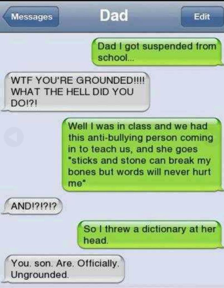 30 Hilarious Texts!