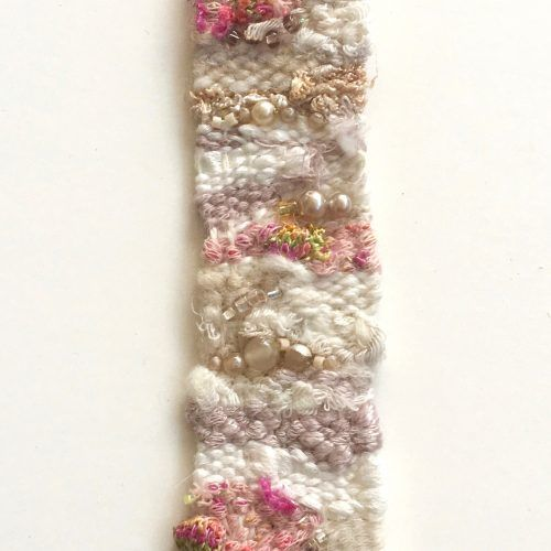 free form weaving  How to Make a Freeform Friendship Bracelet | Friendship ...