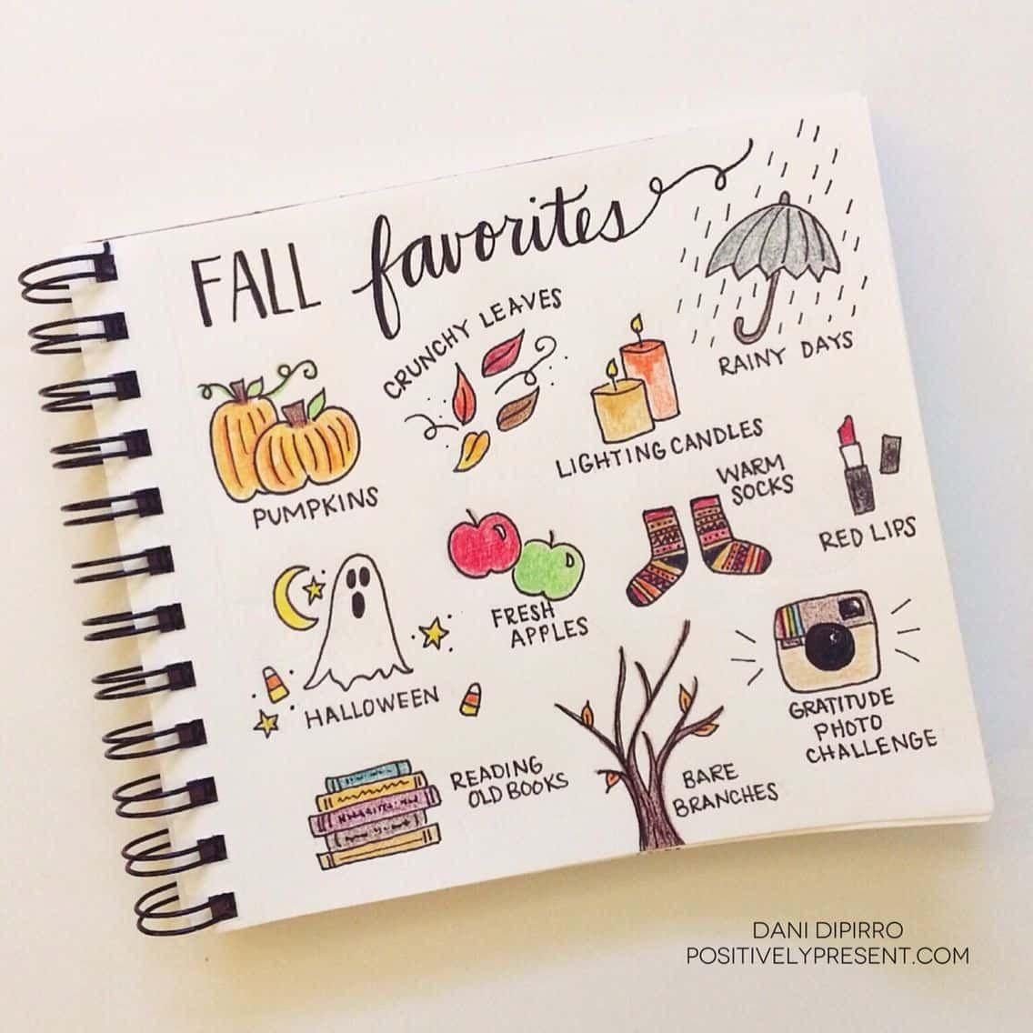 32 Fabulous October Bullet Journal Themes {Halloween, Fall and Pumpkins Galore!}