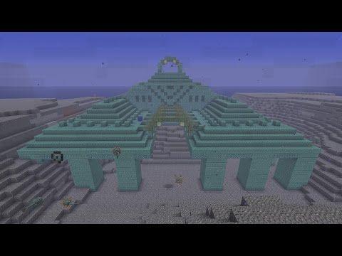 Cool Ocean Monument Ravine Savannah Island Minecraft Seed 1 8 2