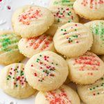 Whipped Shortbread Cookies #whippedshortbreadcookies