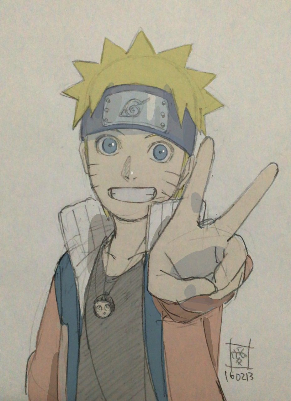 Who Is On His Necklace Dibujos De Anime Naruto Dibujos