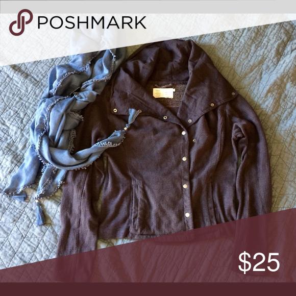 Jacket Cozy jacket antropology  Jackets & Coats Jean Jackets