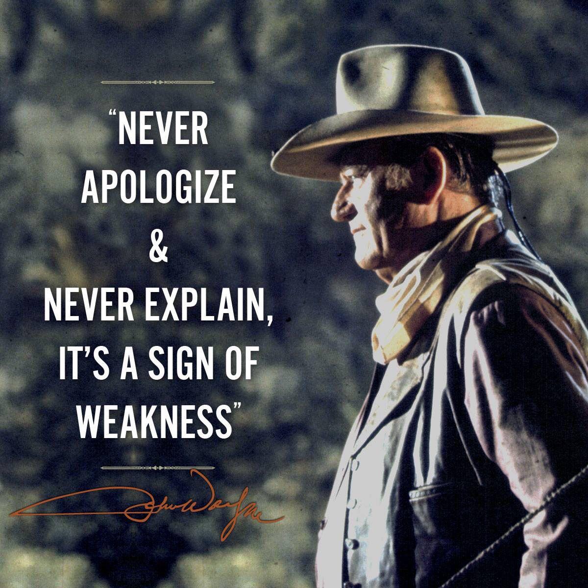 John Wayne John Wayne Quotes Cowboy Quotes John Wayne