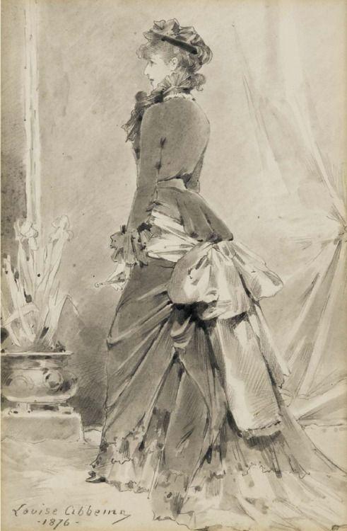 Louise Abbéma - Portrait of Sarah Bernhardt