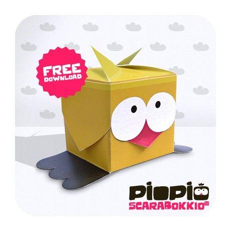 Pio Pio le Paper Toy so cute!!! - Le Monde est à Nous