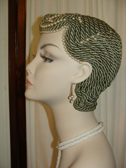 Art Deco Inspired Mannequin Heads For Sale Mannequin