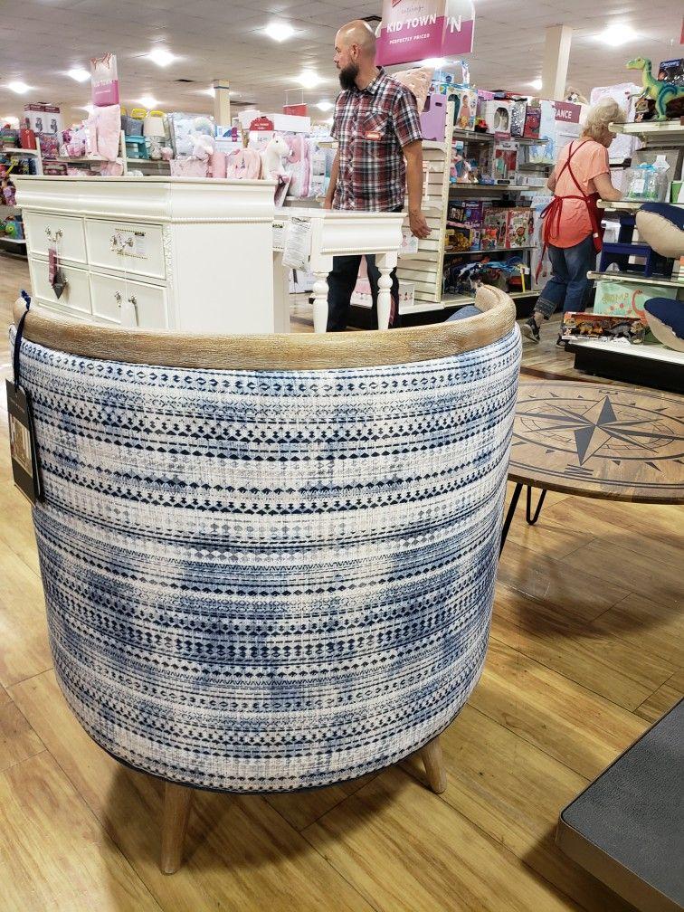 Tommy H Barrel Swivel Chair Homegoods Home Goods Wicker