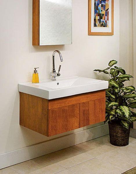 Brussels Modern Bathroom Vanity SB-016 by SuperBath bathroom in