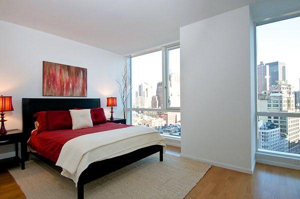 romantisches schlafzimmer dekoideen rot wei - Romantisches Schlafzimmer